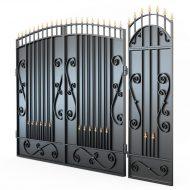 Откатные ворота Ковка