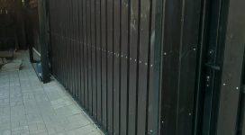 фото откатные ворота. ЕвроСистемы